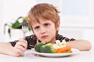autism picky eater struggles to eat veggies