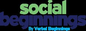 social beginnings by verbal beginnings logo for building social skills